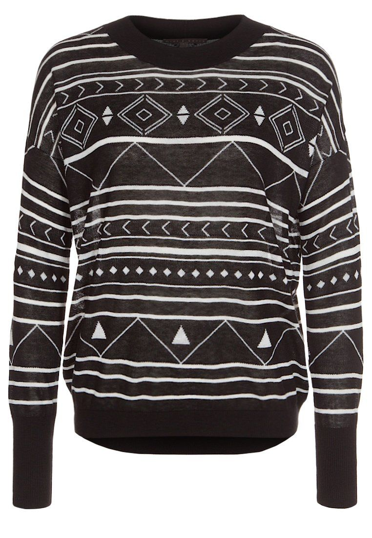 mint&berry - Strickpullover - black für 44,95 via zalando