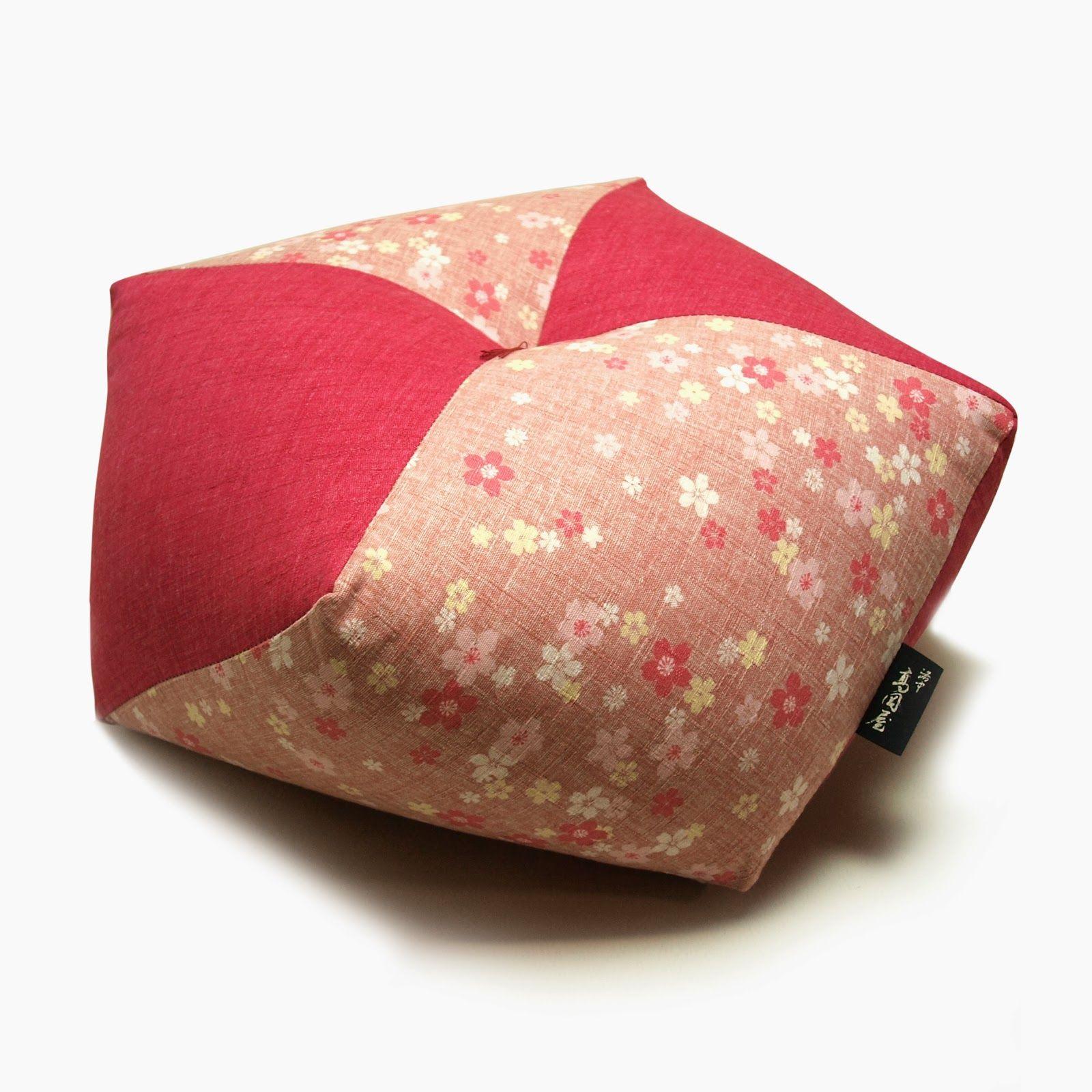 Sakura Ojami Japanese Meditation Cushion, Floor cushion #sakura #Japanese #MeditationCushion #FloorCushion