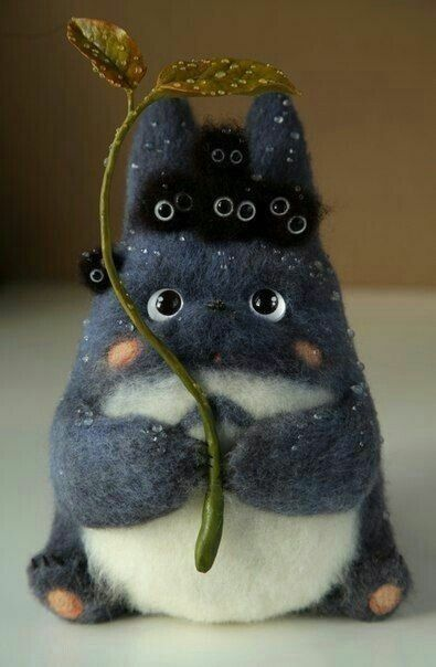 Pin by Terisa Davis on Sculpey   Totoro plush, Totoro, Totoro toy