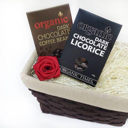 Gifthamperssingapore Gift Hampers Organic Dark Chocolate Organic Coffee Beans