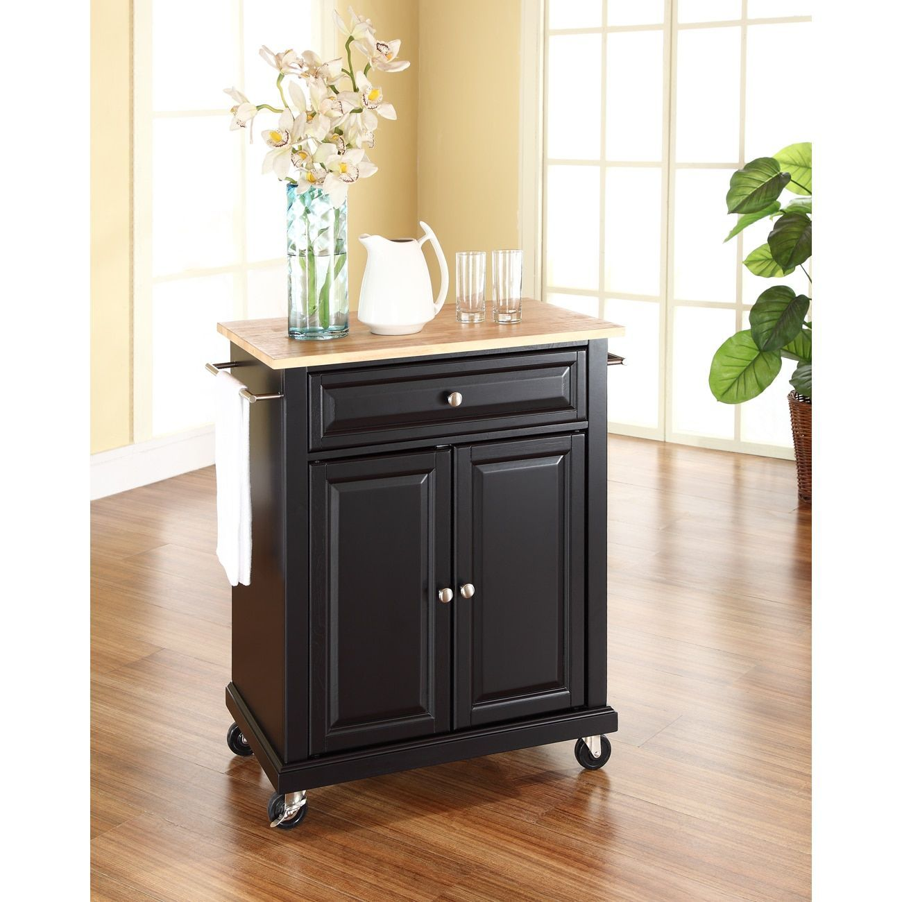 Crosley furniture portable kitchen cartisland with top products