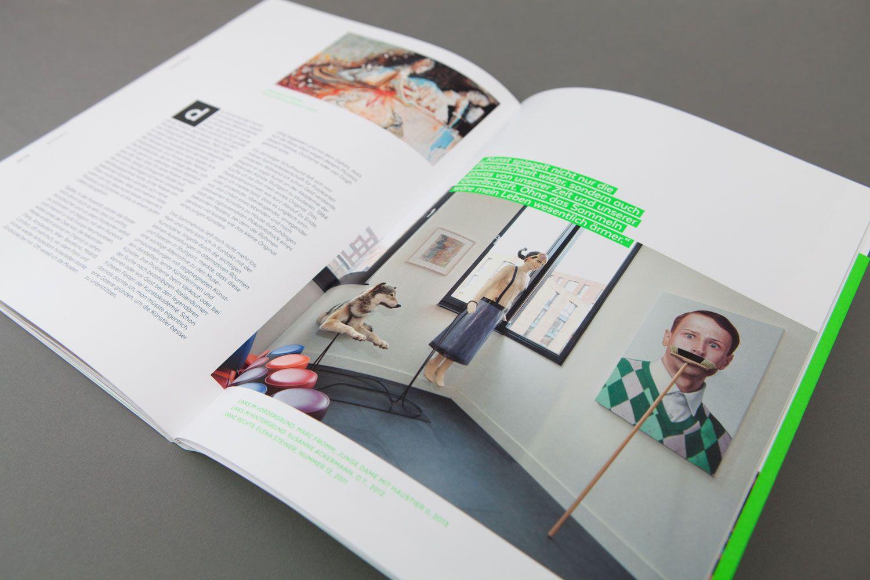 Inhaltsseiten des Kapitels über Kunstsammler Frank Molliné