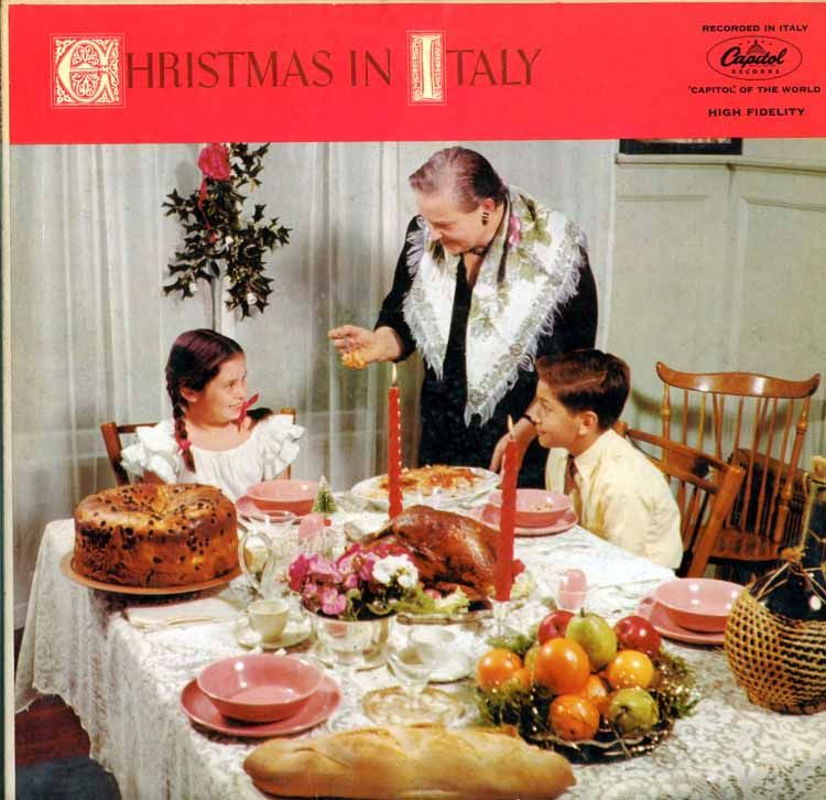 Italian Christmas Music.Cd Christmas In Italy Recorded In Italy Capitol Records