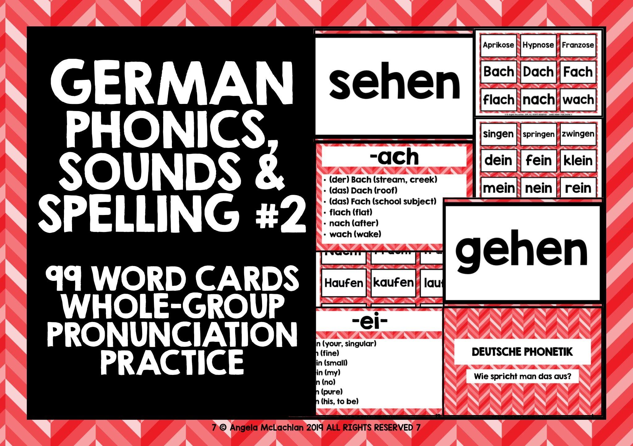 Germanphonics Germanspeaking Germanpronunciation German