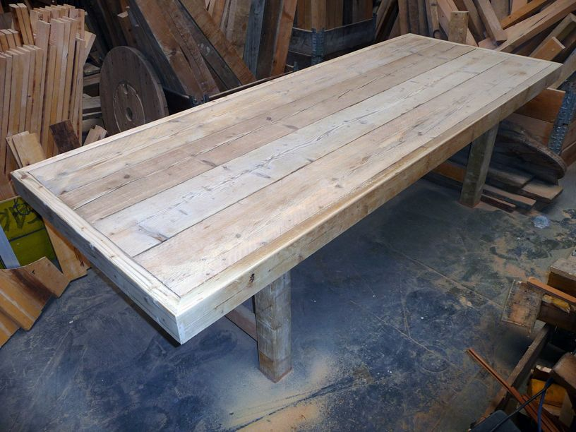 Garden Furniture Made From Scaffolding Planks