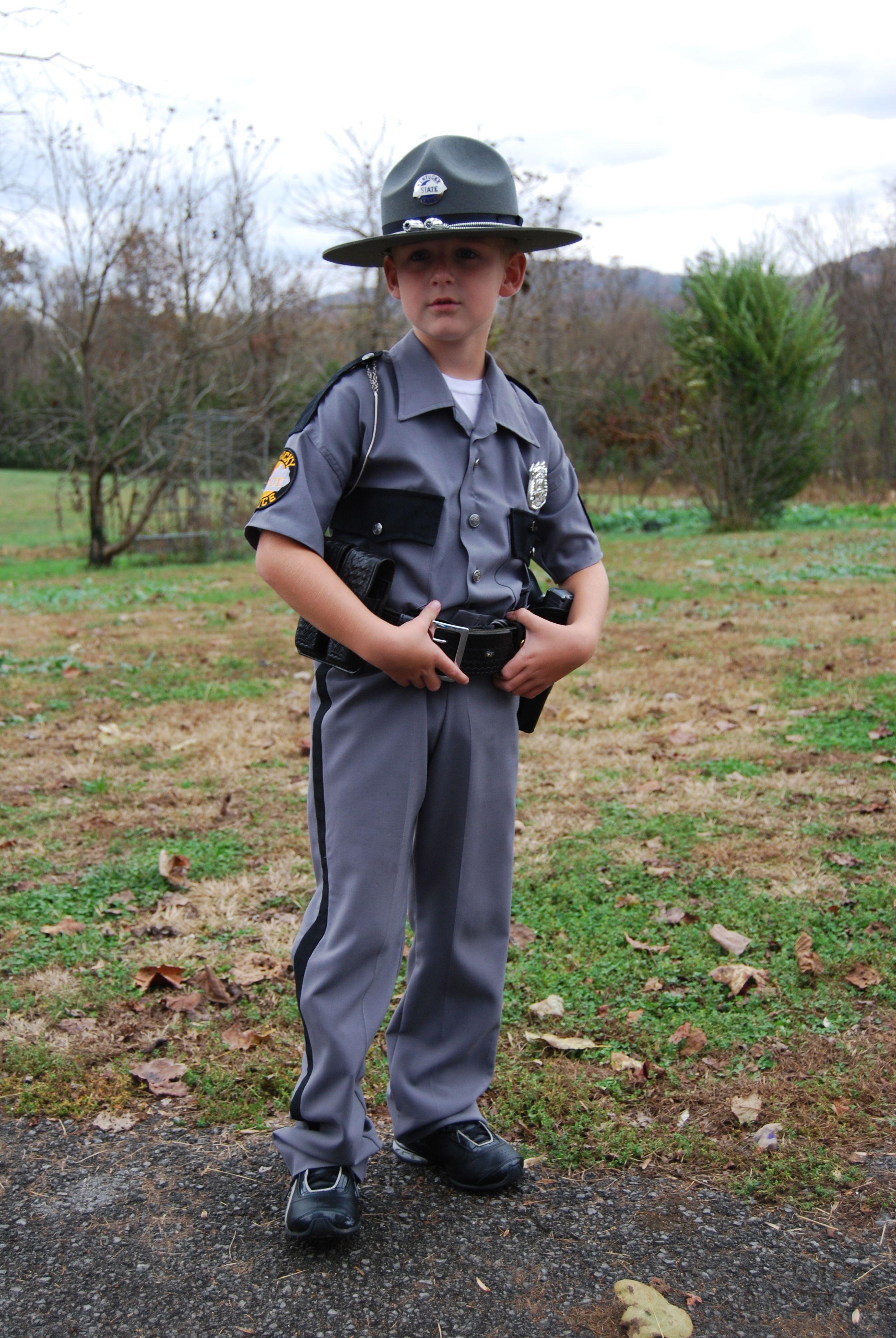 Kentucky State Police Halloween Costume Police Halloween Costumes Police Costume Kentucky State