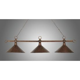 Westmore Lighting Snook 16In W 3Light Antique Copper Kitchen Impressive Kitchen Lighting Lowes Decorating Design