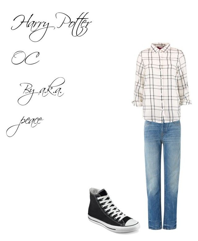 """""""Glass Gone a.k.a. peace"""" by imaginestronger ❤ liked on Polyvore featuring T By Alexander Wang, Boohoo and Converse"""