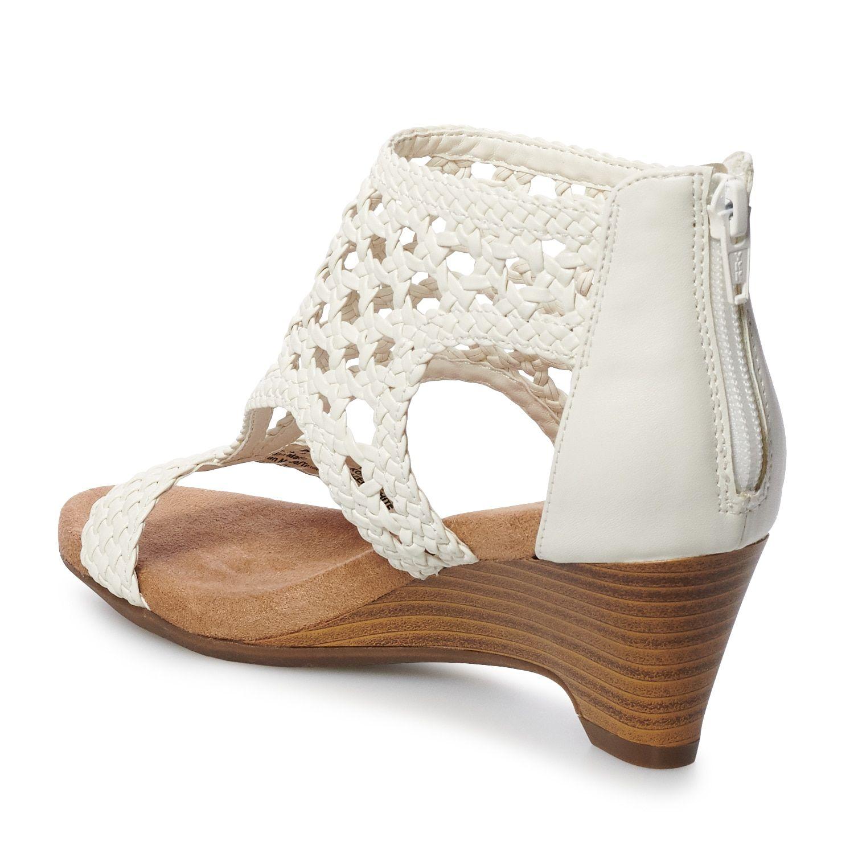 7f75264f165 Croft   Barrow  Woven Women s Wedge Sandals  Affiliate  Woven ...