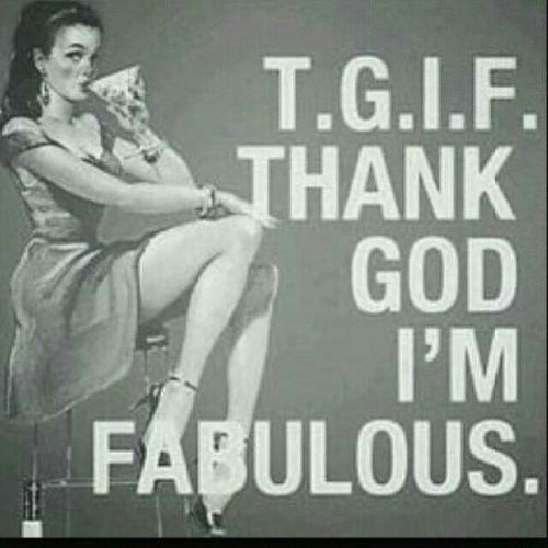 Hells yeah!  #Regrann from @american_salon  -  Sometimes TGIF has two meanings 😉 #fashionfriday #americansalon