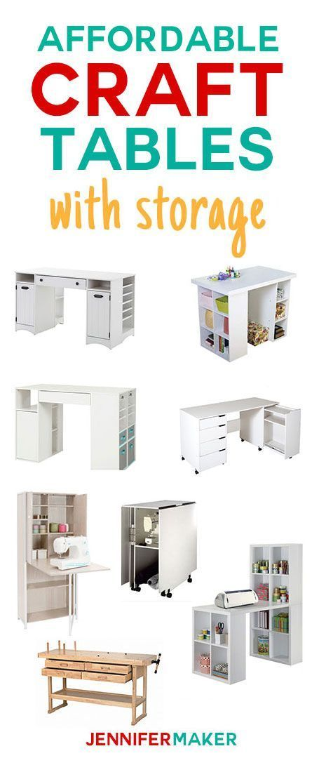 Where to Buy Craft Tables That Are Affordable -   21 crafts table ideas