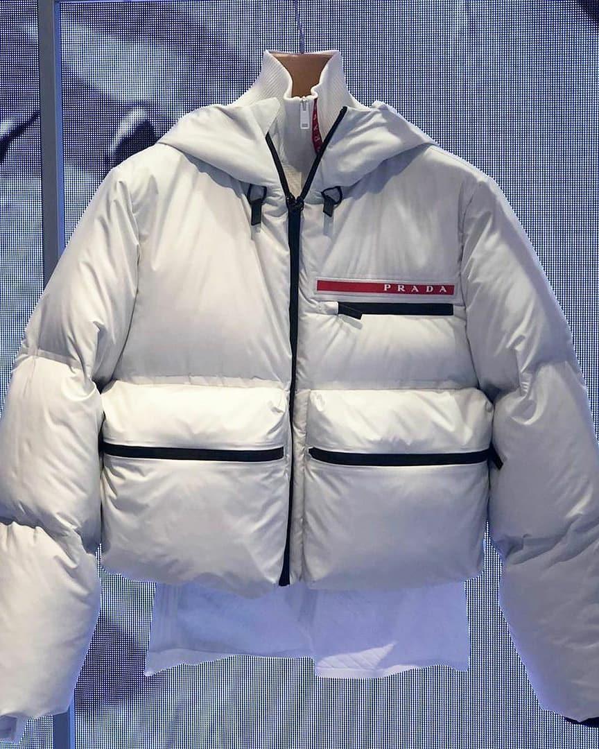 Thinker On Instagram Unisex Prada Ski Wear In 2021 Ski Wear Winter Jackets Jackets [ 1080 x 864 Pixel ]
