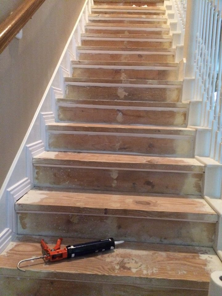 Best Diy Nasty Carpeted Stairs Removal Basement Ideas Sous 640 x 480
