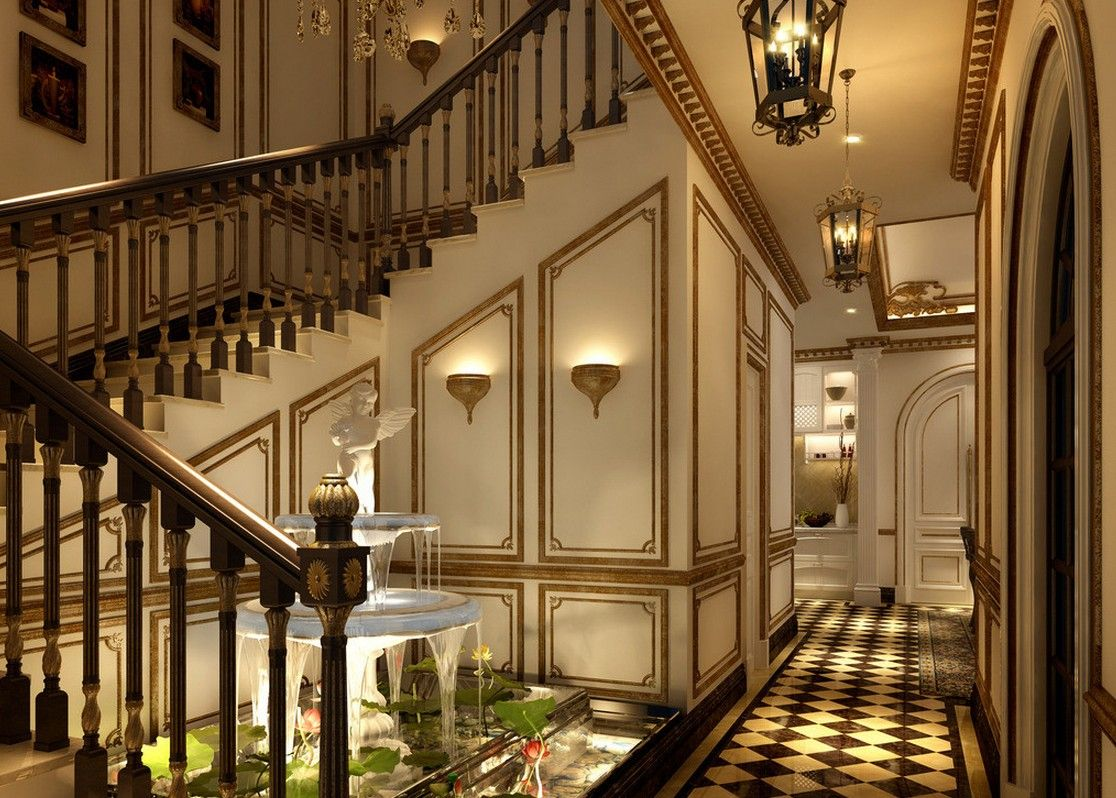 modern neoclassical interior - Google Search | Old Architecture ...