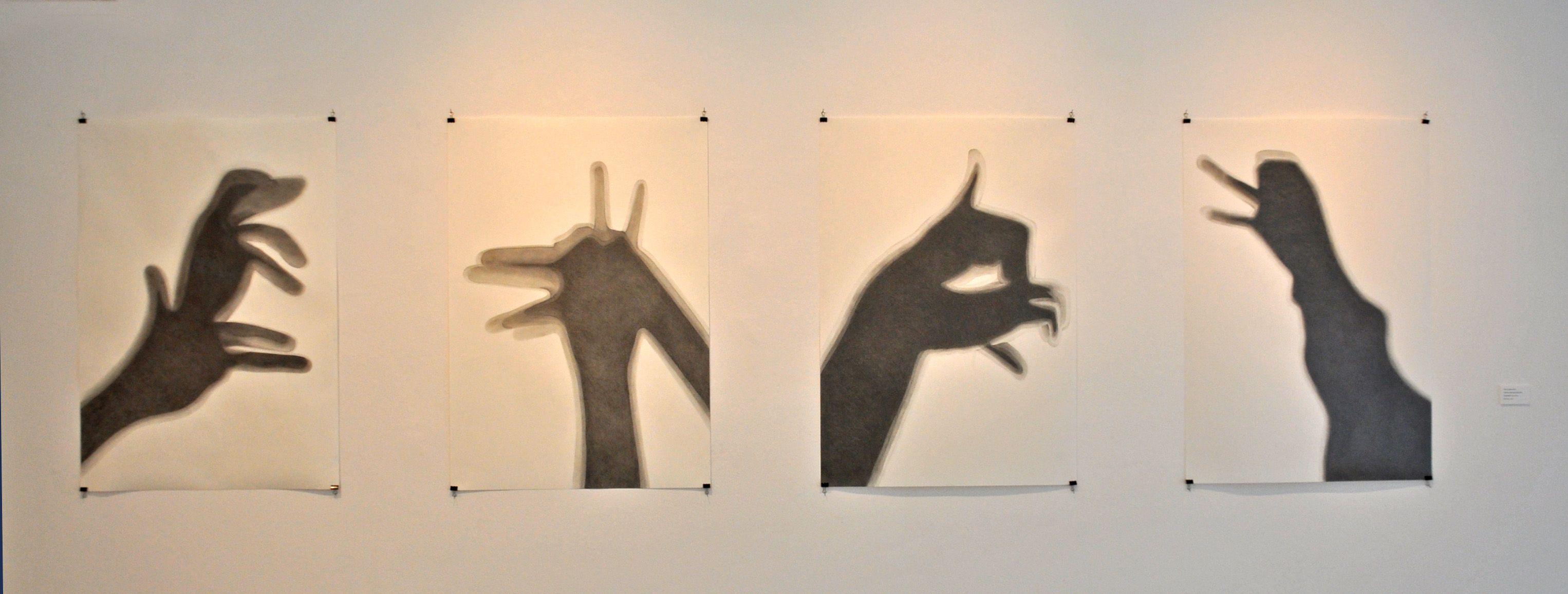 """""""Indicios"""" Grafito sobre papel"""