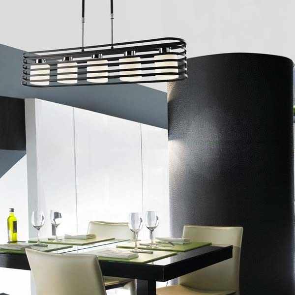 L mpara techo cell 2 wengu 5 luces una l mpara perfecta - Luces para cocinas ...