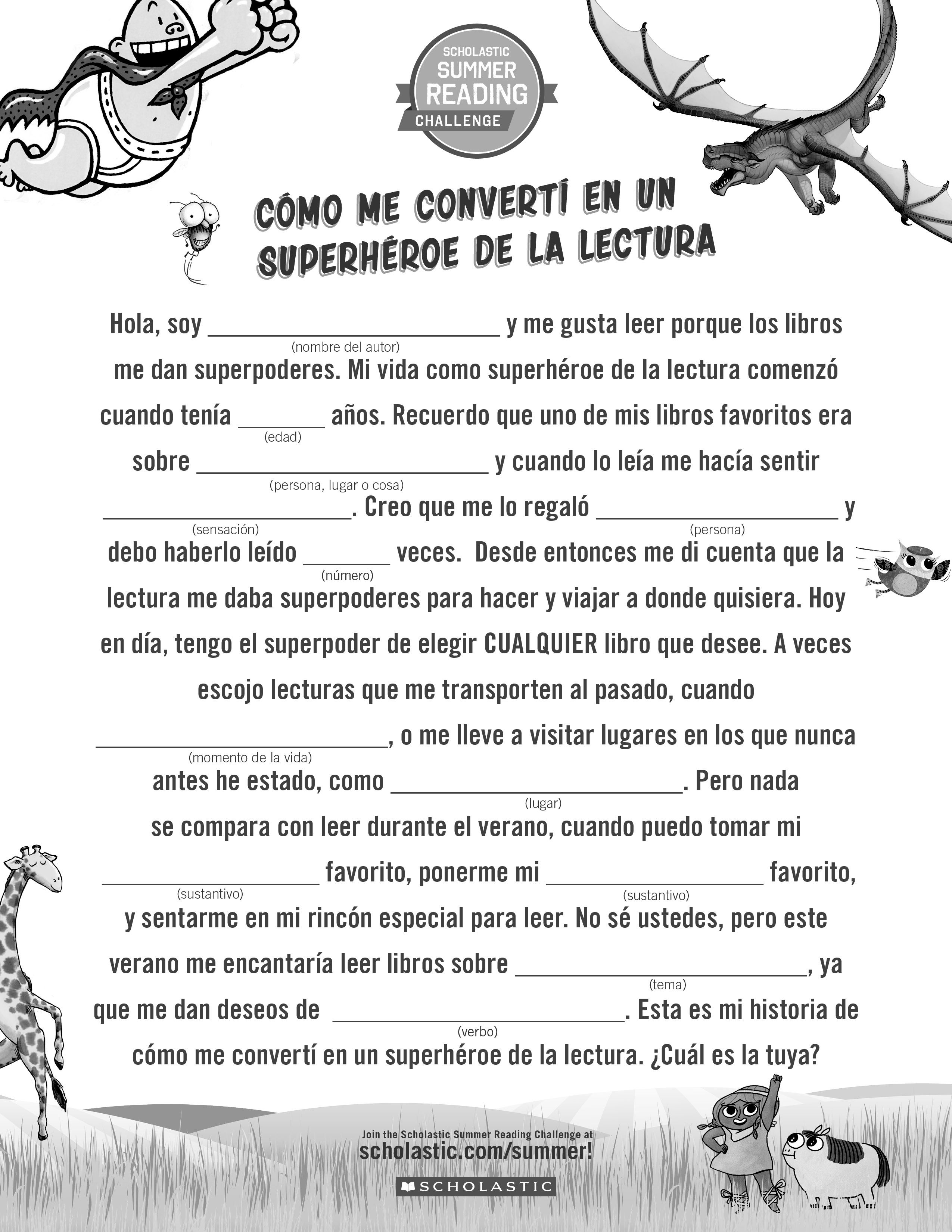 Spanish Version Encourage Kids To Talk About Reading By