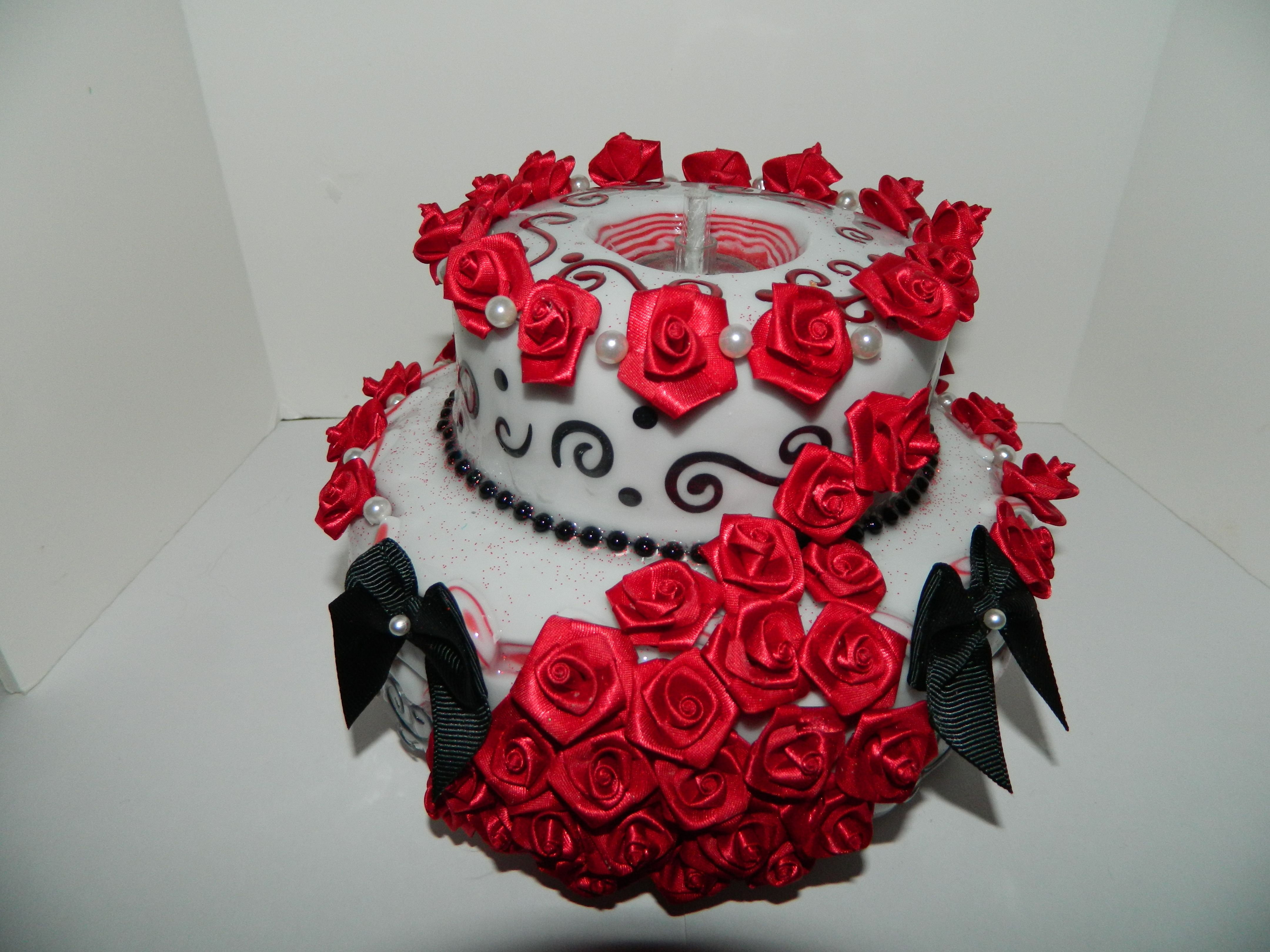 Hand made new design fancy cake candles pinterest