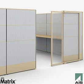 Love The Sliding Door Office Partition Design Office Dividers Modern Office Space