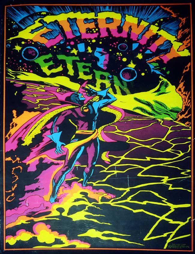 70s Black Light Posters