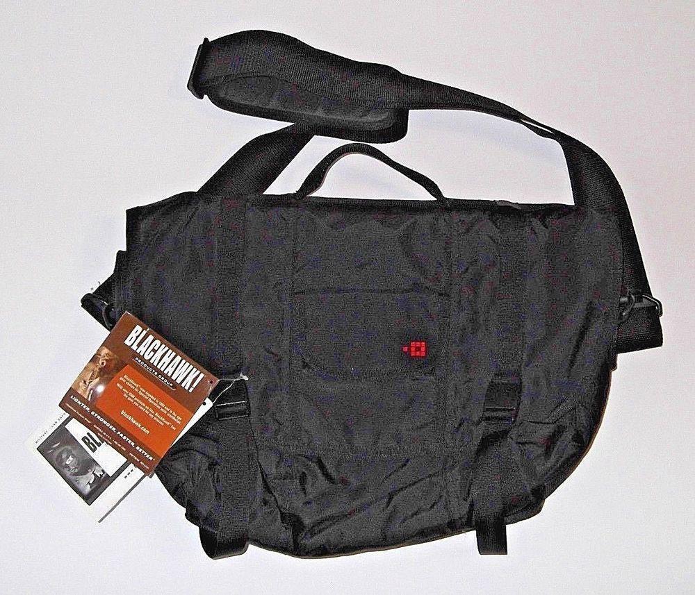 Blackhawk Laptop Black Messenger Bag Hunting Escape The Wolf