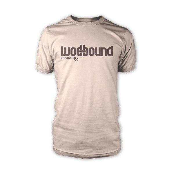 The WODbound Tee - Fitness shirt for WODs found on Polyvore
