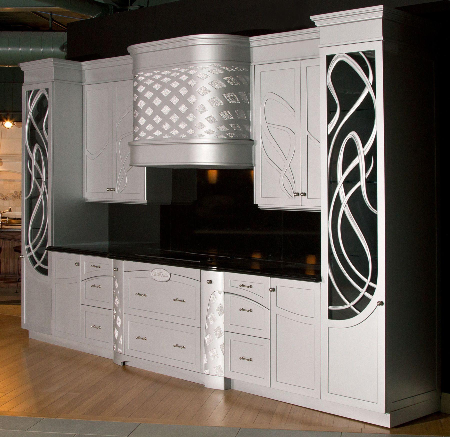 Pin By James Frager On Custom Kitchens Art Deco Kitchen Art Deco Kitchen Cabinet Art Deco Kitchen Design