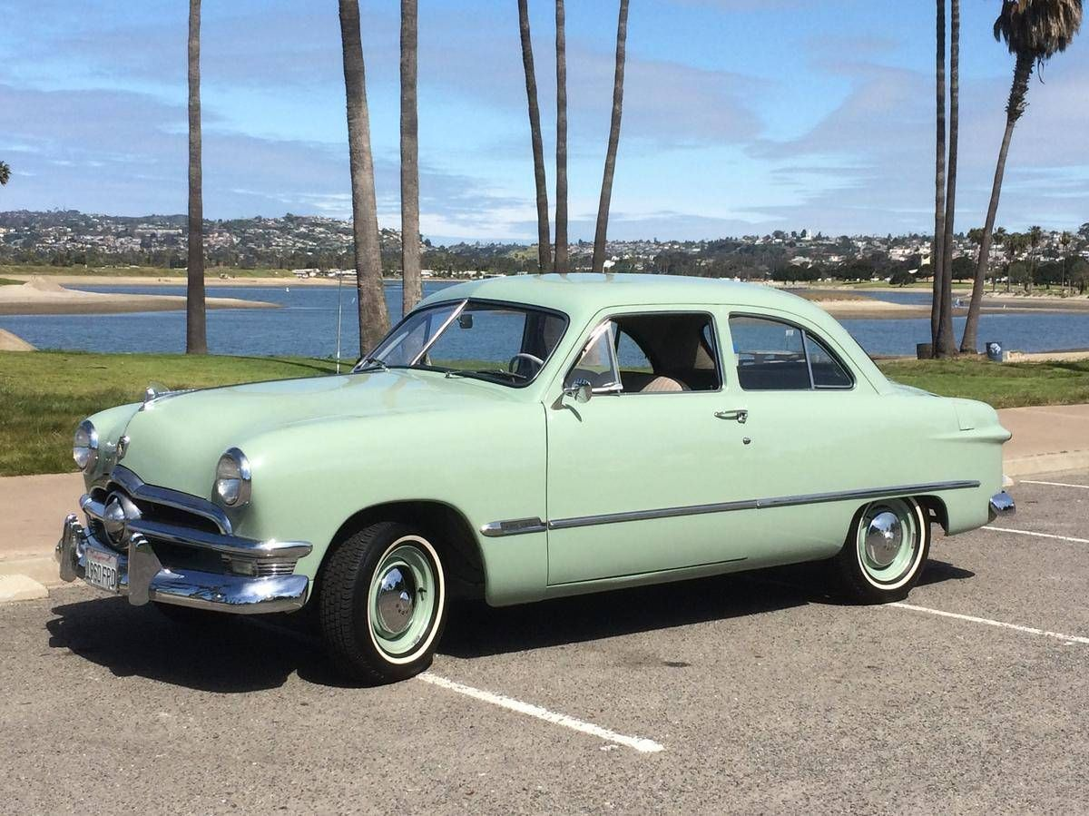 Hemmings Find Of The Day 1950 Ford Custom Deluxe Tudor Sedan Sedan Ford American Classic Cars