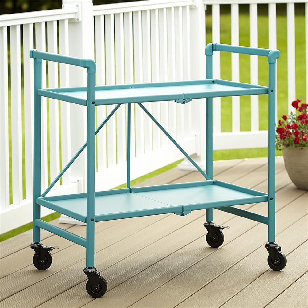 Cosco Home And Office Products 87602 Outdoor Folding Serving Cart At The Mine Browse