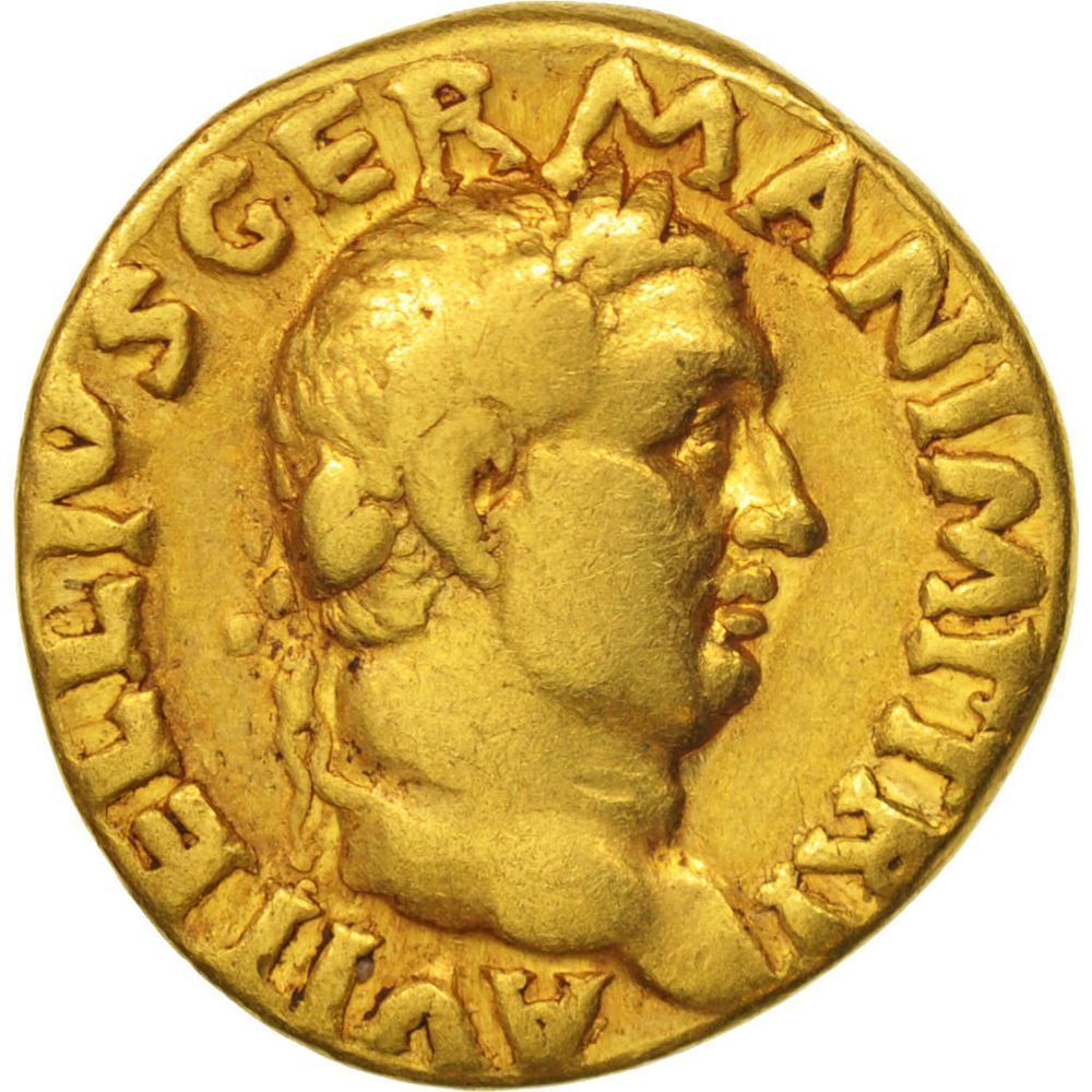 505748 Vitellius Aureus Rome S Gold Ric82 Münzen Münzen