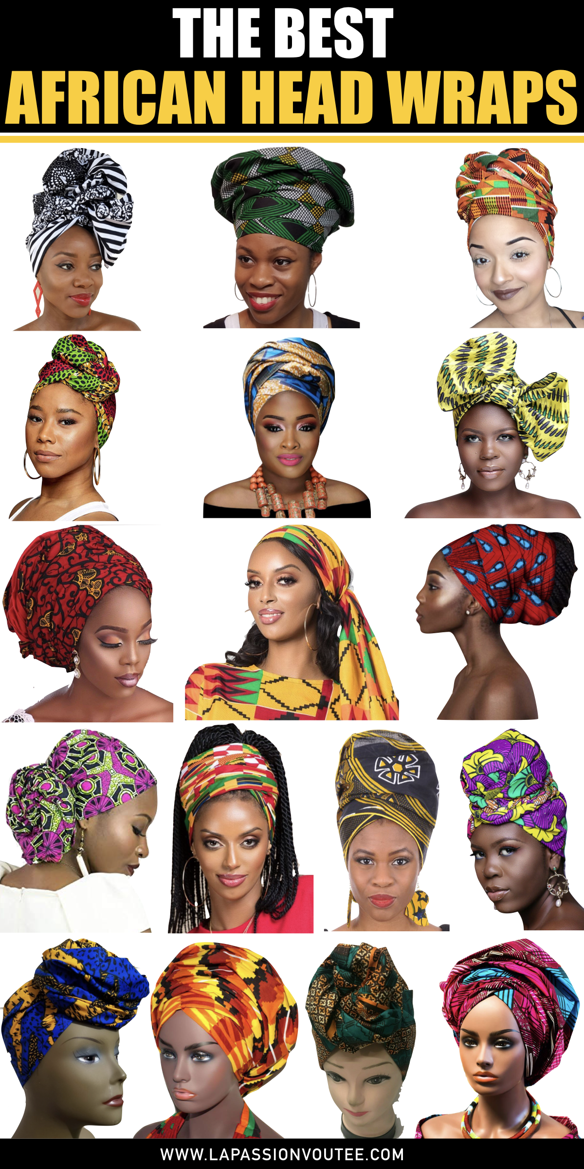 The best African head wraps