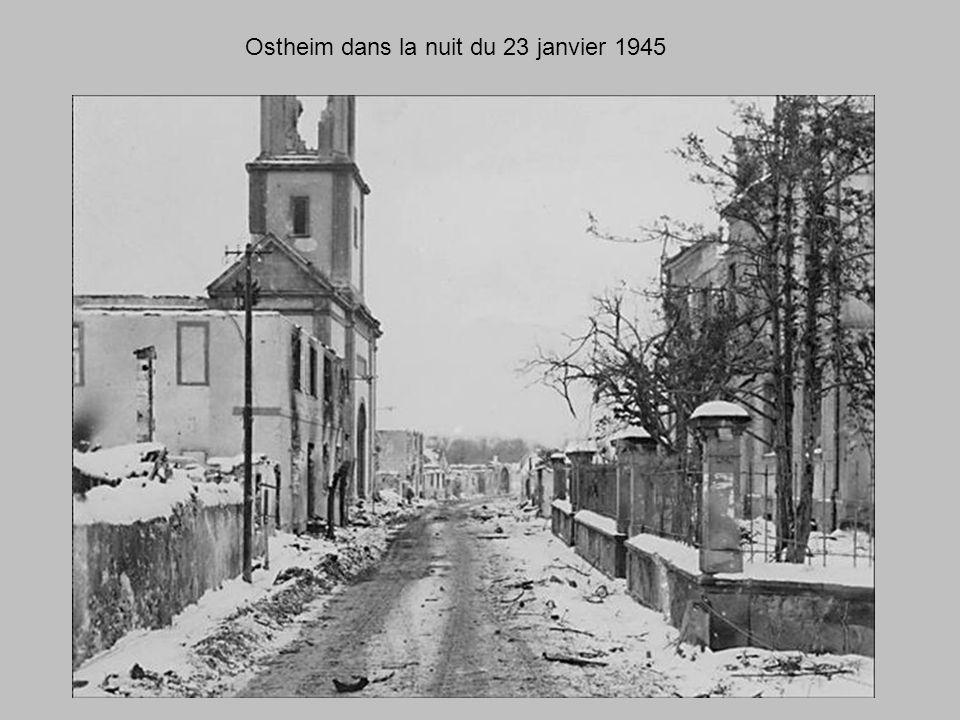 Ostheim dans la nuit du 23 janvier 1945   Nuit
