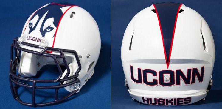 Uconn Huskies Football Helmet Design Football Helmets Uconn Football