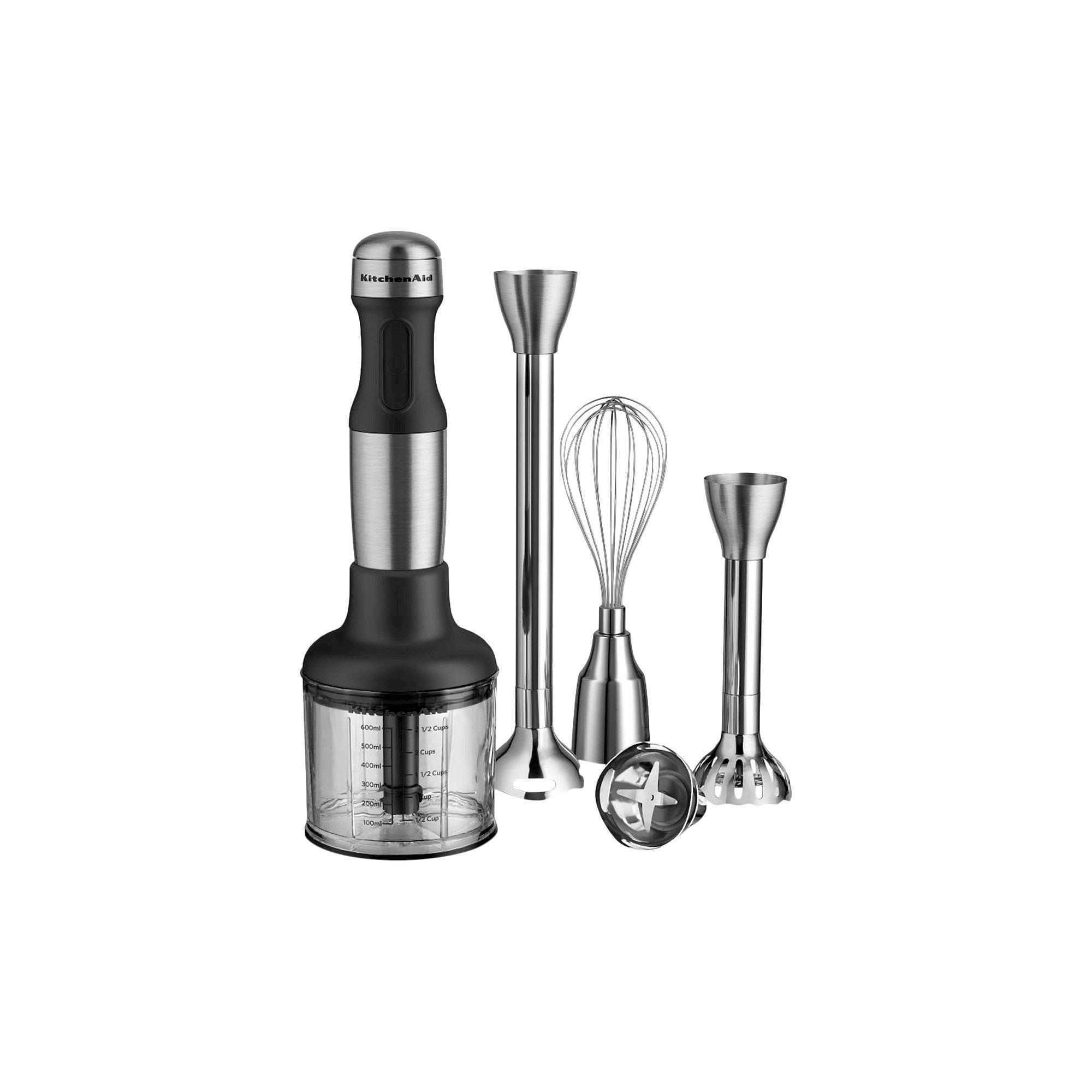 Kitchenaid 5speed hand blender khb2571 silver hand