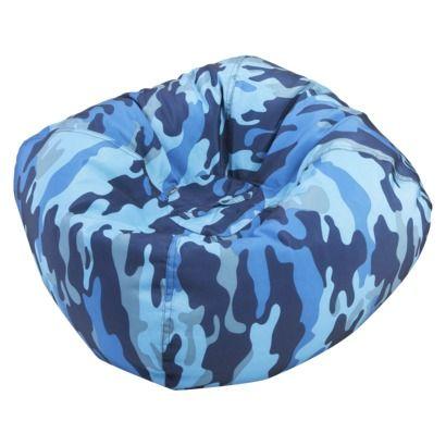 Circo Bean Bag Chair   Navy Camouflage Quick Information