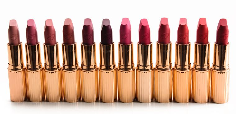Charlotte Tilbury Hot Lips Lipstick in Kim K.W || Beauty