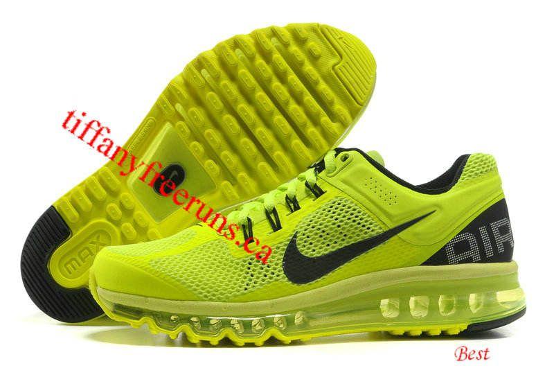 Black · Nike Air Max 2013 Mens Volt ...