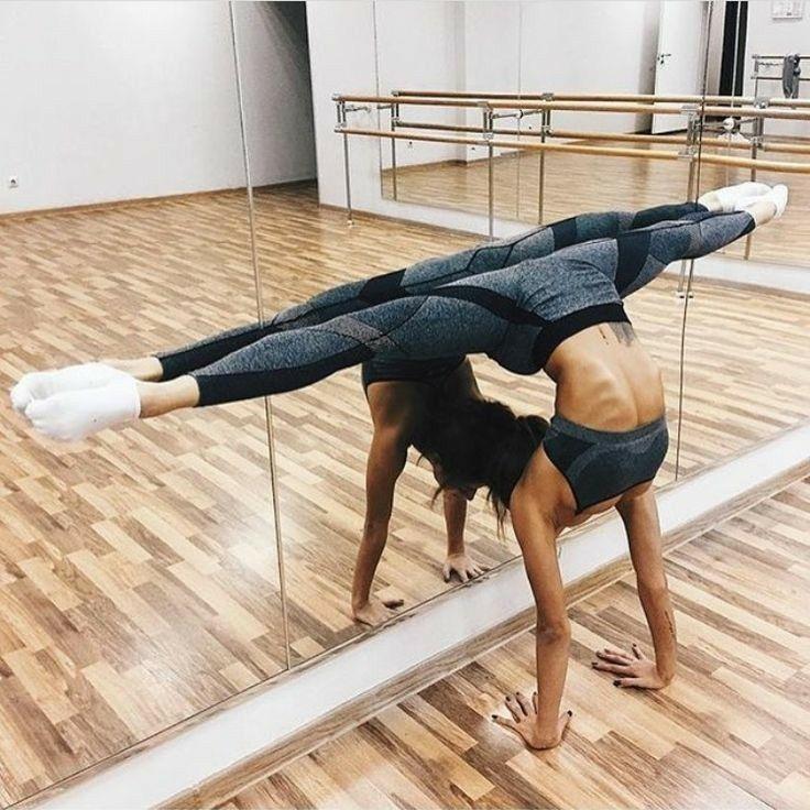 @chrnk23 | Gymnastics poses, Yoga inspiration, Fitness