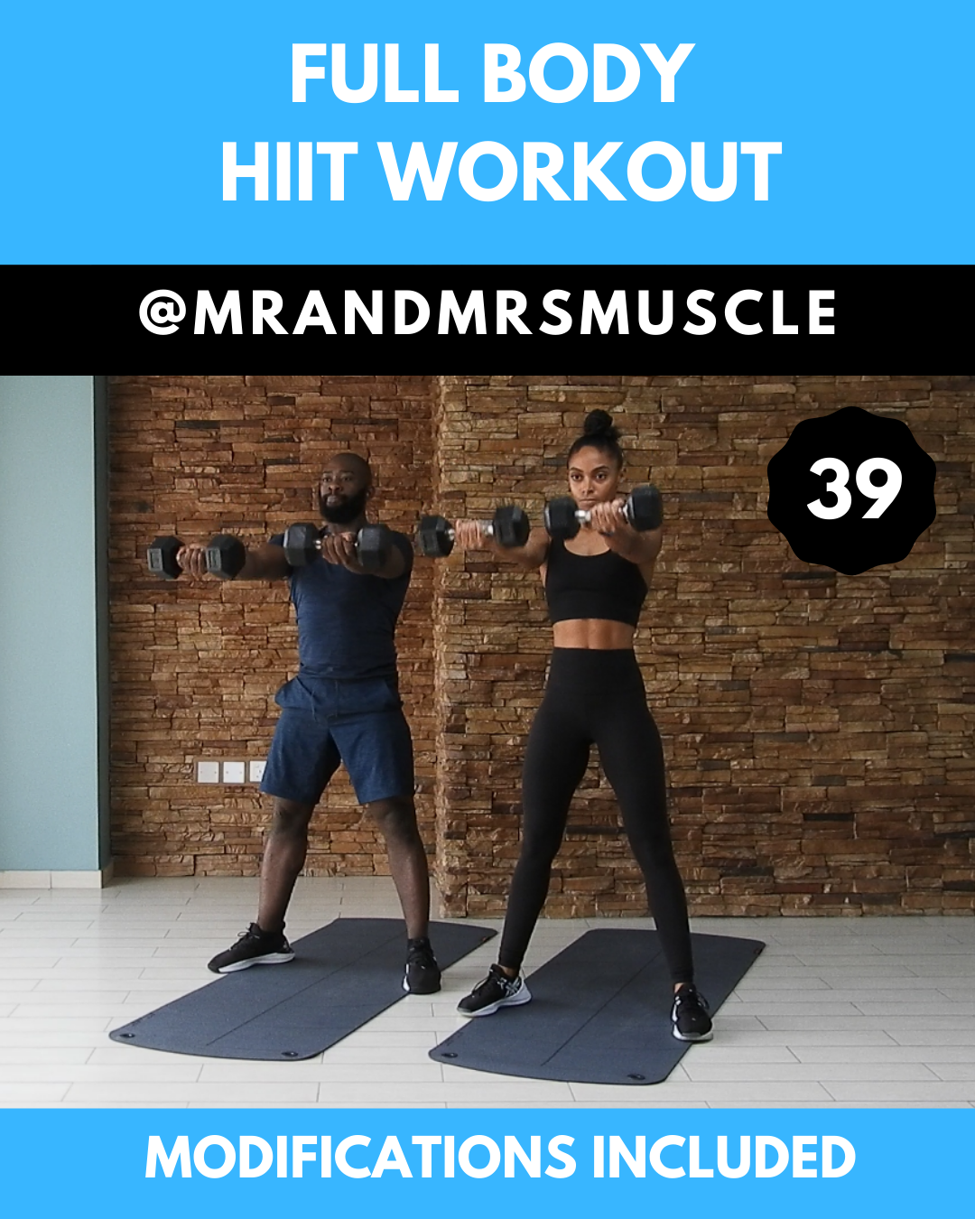 Intense Full Body HIIT Workout #routine