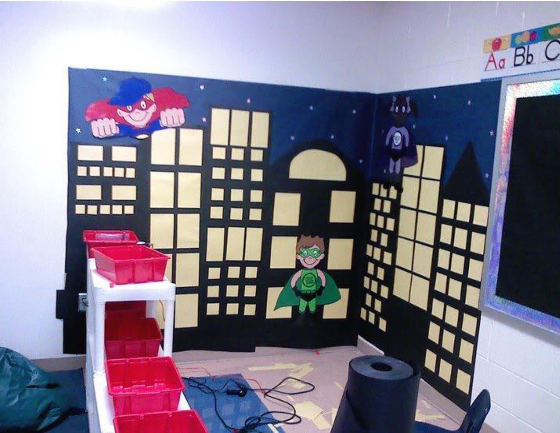 Classroom Decor Cape Town ~ Mrs fdk doyle superhero night scape city at