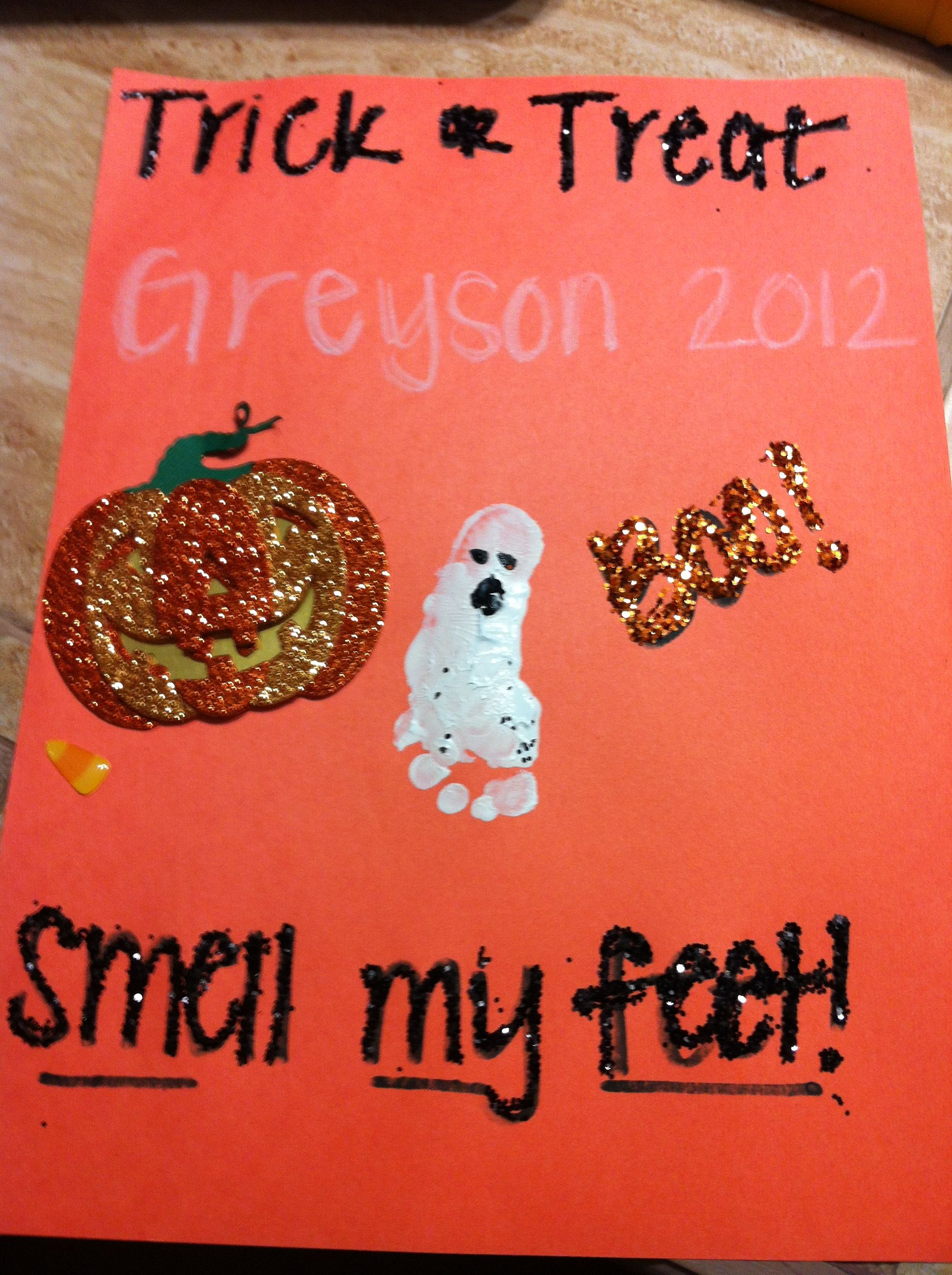 Halloween Craft For Baby S First