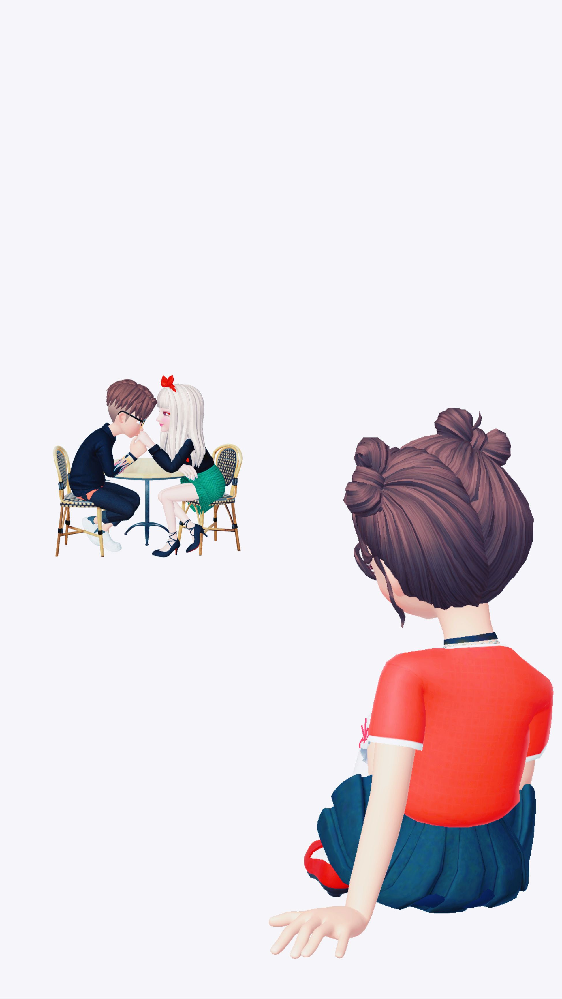Pin By حنــو On بنات باربي Photo Ideas Girl Profile Picture For Girls Cute Drawings
