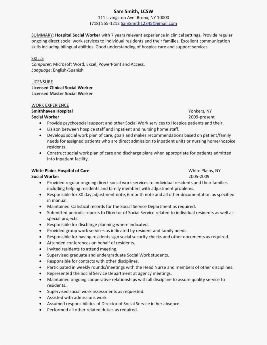70 New Gallery Of Curriculum Vitae Examples For Social Workers Check More At Https Www Ourpetscrawley Co Resume Skills Resume Objective Statement Social Work