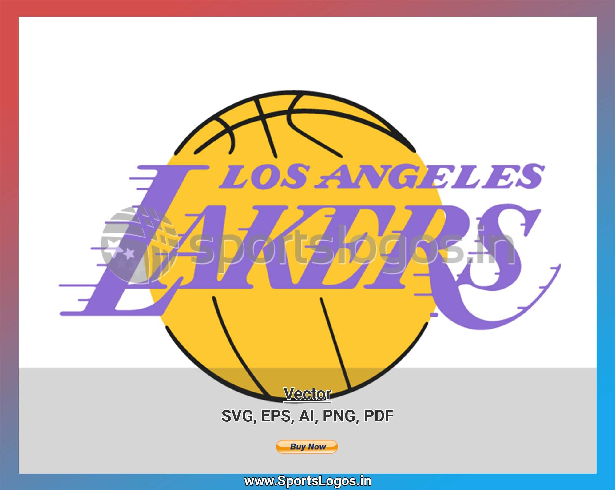 Los Angeles Lakers Basketball Sports Vector Svg Logo In 5 Formats Spln002439 Sports Logos Embroidery Vector For Nfl Nba Nhl Mlb Milb And More Los Angeles