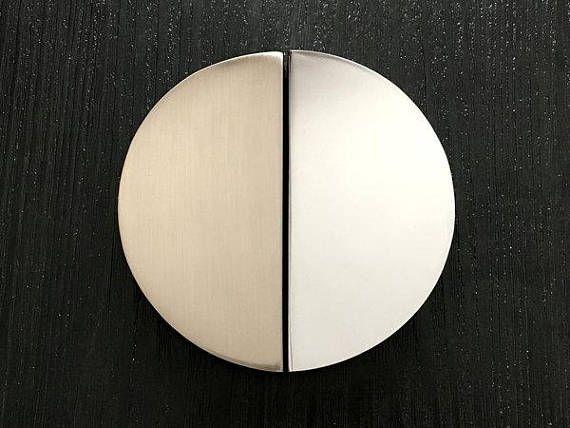 2 5 C Half Circle Drawer Pull Handles Handle Cabinet