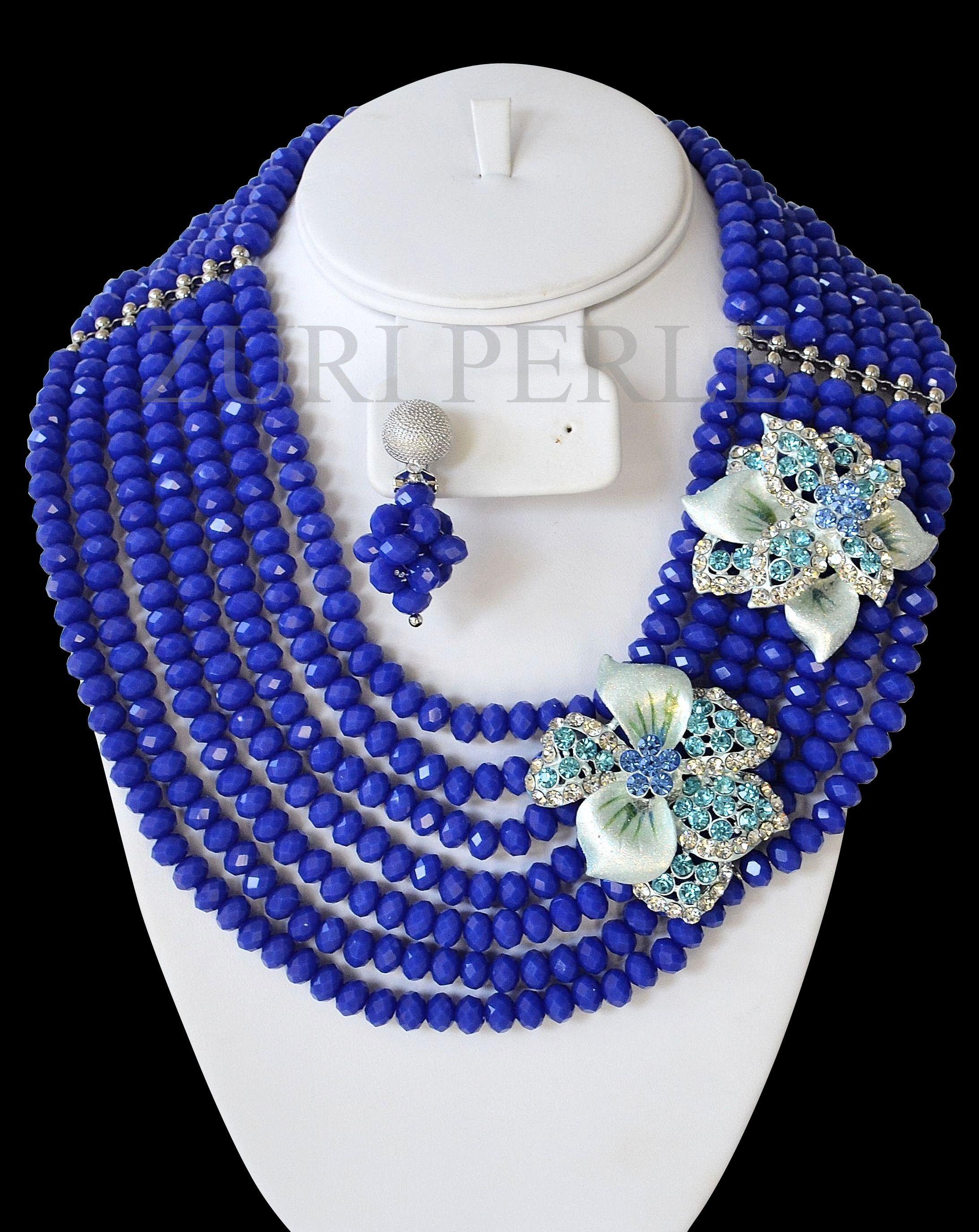 Nigerian wedding traditional jewelry by Zuri Perle Coral Beads ...