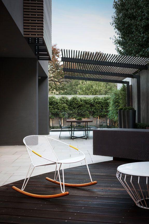 cambio de color de la asa | Terrazas | Pergola design, Patio ...