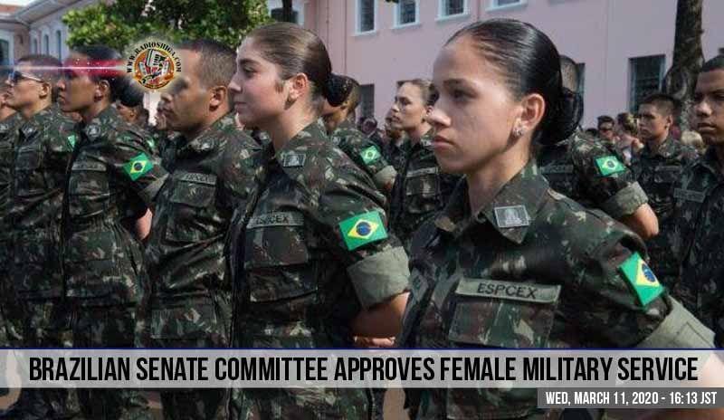 Brasil Comissao Do Senado Aprova Servico Militar Feminino 2020