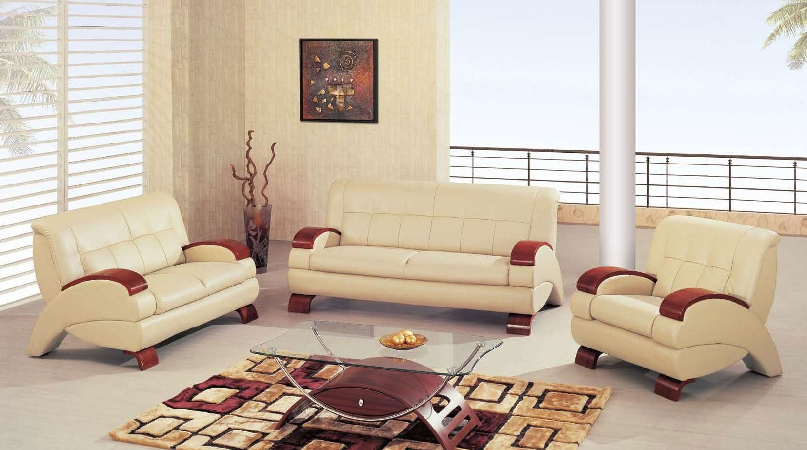 Couch Leder Cappuccino 1378 2 Pcs Modern Cappuccino Leather Sofa Set Sofa And Loveseat