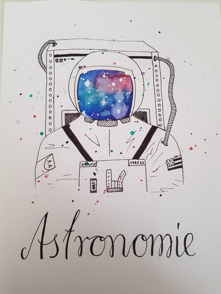 Deckblatt für Schulhefter Fach:Astronomie | selfmade | Pinterest
